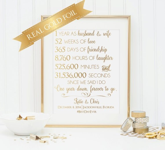 Gift For Husband On 1st Wedding Anniversary: First 1st Anniversary Gift Anniversary Gift For Husband Or
