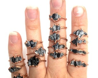 "Shop ""obsidian"" in Rings"