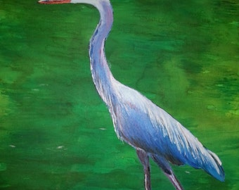 Heron Note Cards