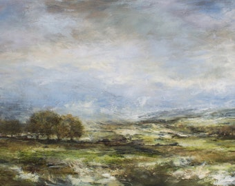 Castle Bolton Wensleydale Yorkshire Dales Landscape Signed Limited Edition Print from Original Landscape Painting