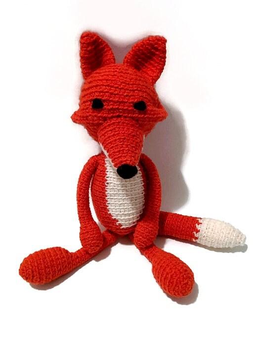 Amigurumi Stuffed Animals : Fox Crochet Crochet Fox Amigurumi Plush Fox Plush Animal