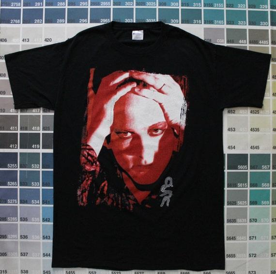 Vintage The Cure shirt | 1990s oversized tshirt men extra large XL | Robert Smith concert shirts women XXXL | Brockum 1992 wish tour tee