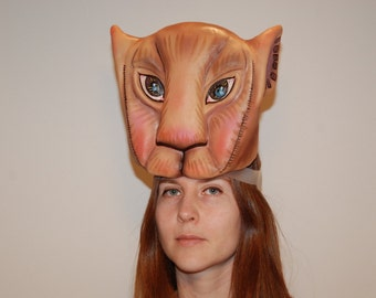 Nala mask, Lion King musical costume, kids from age 10 + adults, lioness mask