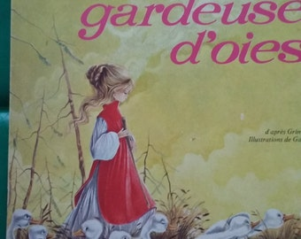 Tale / the little goose girl (Grimm) book of 1970