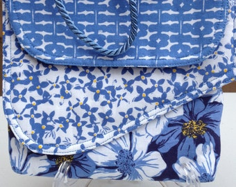 Multi-pocket fabric purse