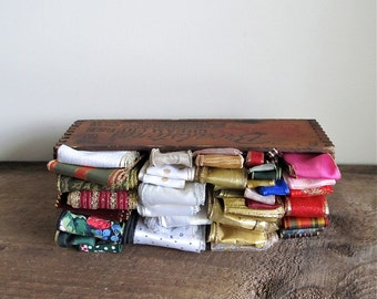 Large Assortment of Wired Edge Ribbon – Destash Lot