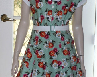 The ''Clarrisa'  Dress . A Classic 1950's Vintage  Reproduction