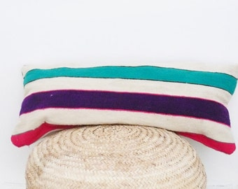 Moroccan Kilim pillow cover - Stripes