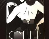 Shhh - Lingerie Illustrations