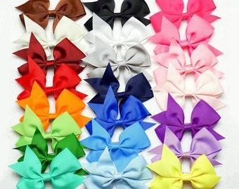 Girls Hair Bows (1 DOLLAR EACH) Baby Girls Hair Bows Toddler Bows toddler hair bows newborn hair bows baby bows hairbows sale