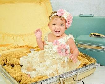 Girl Headband, Baby headband, baby girl, Newborn headband, Newborn flower head band, baby girl gift, baby shower gift, baby gift