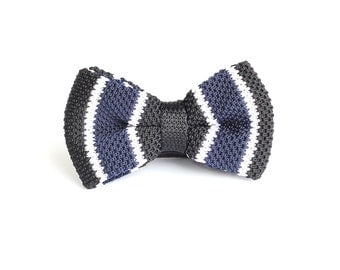Bow Tie for Men,Knit Bow Ties,Personalized Wedding Knit Bowtie,Mens Knit Bowtie,Mens Grooming,Bowtie for Party,Mens Gifts,Christmas Gift