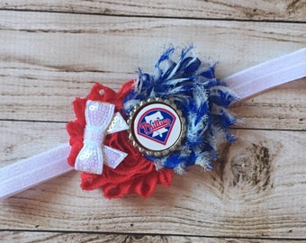 Philadelphia phillies Inspired Headband
