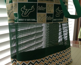 USF Large Handmade Beach/Tote Bag