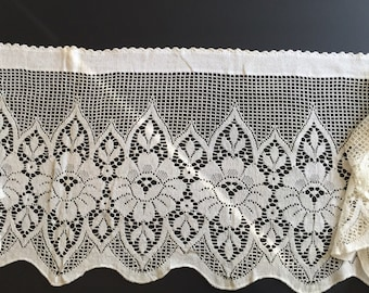 Lace cafe curtains – Etsy UK
