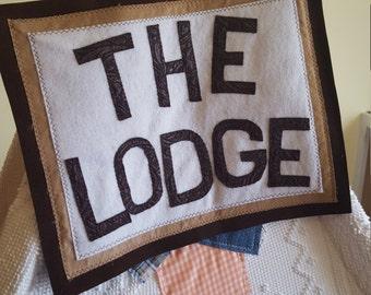 Teepee Topper, Kids Teepee, Teepee Sign, Lodge Sign, Boys Room Decor, Boys Teepee, Boys Play Tent