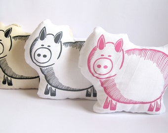 Oink Piggy Cushion