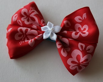 Hawaiian Girl Lilo Inspired Boutique Bow