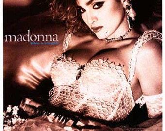 Madonna Like A Virgin 1980's  Rare Poster