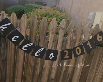 Hello 2016 Banner