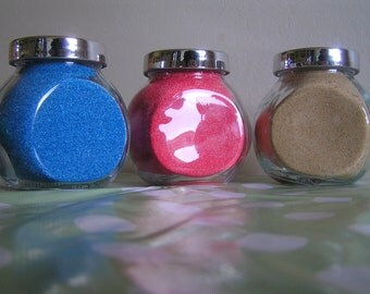 6 x 100g COLOURED SAND