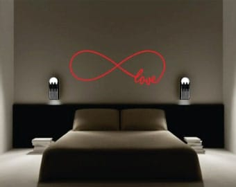 Infinity Wall Decal - Wall Decal - Vinyl Decal
