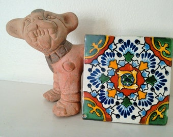 FREE SHIPPING, Three, Talavera Tile, Mexican Tile, Southwestern