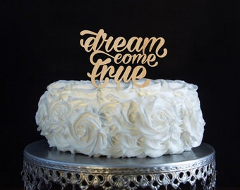 Items Similar To Decorative Always Wood Cake Topper Laser