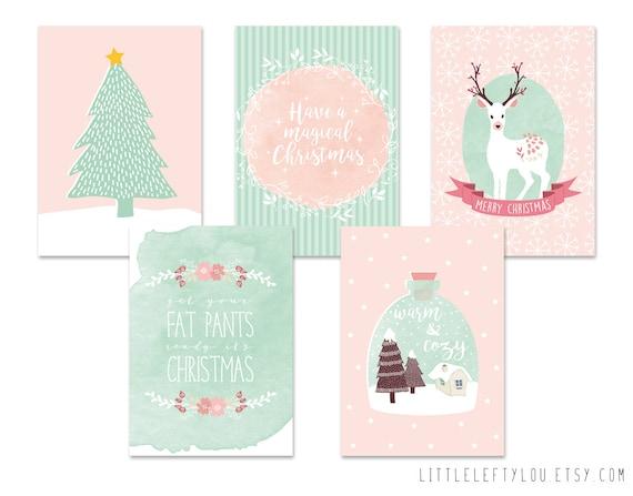 Kerstkaarten van LittleLeftyLou
