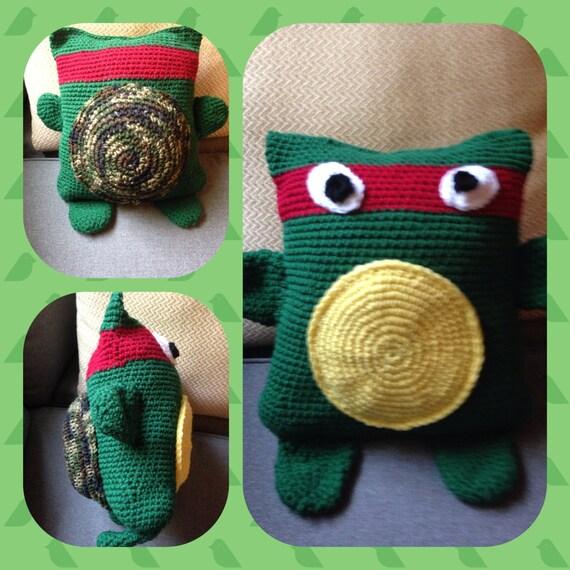 Ninja Turtle Decorative Pillow : Ninja turtle pillow
