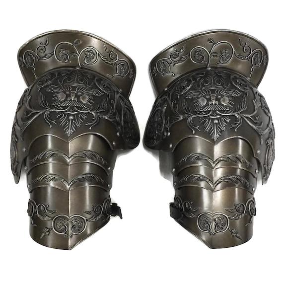 Larp Armor Medieval Negroli Pauldrons