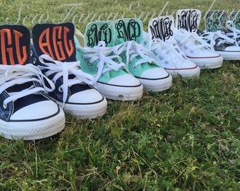 Monogrammed Converse Shoes - WOMEN