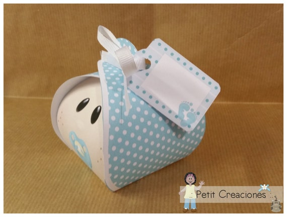 Baby Gift Box Template : Petit creaciones printable curvy keepsake gift box quot baby