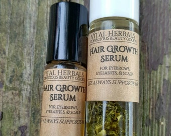 Hair growth serum - serum - eyebrow growth - eyelash growth - hair serum - hair growth - herbal hair growth - hair products - natural hair