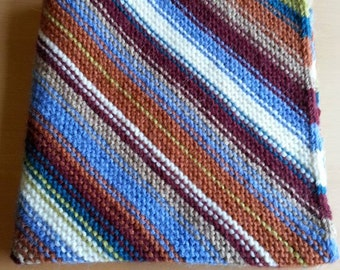 Cosy Hand Knitted Baby Blanket