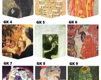 Gustav Klimt Gallery (27 pockets to choose from) Pocket Shirt