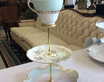 Vintage China Three Tier Server