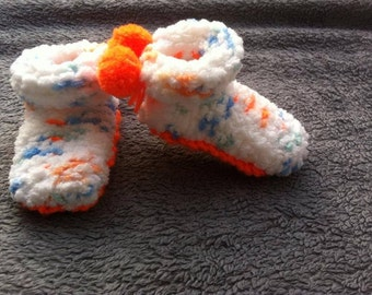 Baby Slippers / baby slippers / knitted baby slippers