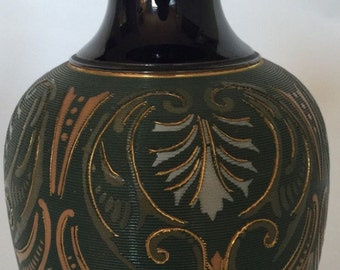 Stunning Lovatt & Lovatt, Langley Mill Art Nouveau Pottery Vase (early 20thC )