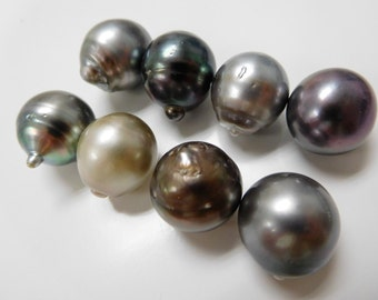15-17mm Mix Multi Circle-Baroque Tahitian Loose Pearls