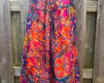 Bohemian Multicolor Pants/Skirt