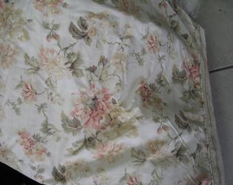 King size Vintage Duvet/Shabby Chic/Floral