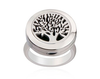 Essentail Oil Diffuser Ring- TREE OF LIFE