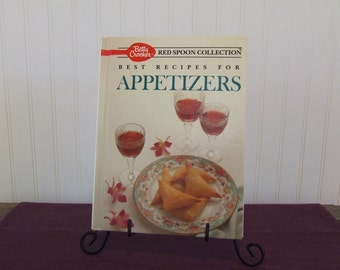 Betty Crocker Best Recipes for Appetizers, Vintage Cookbook, 1989