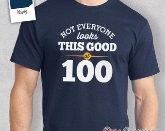 100th Birthday, 1917 Birthday Gift, 100th Birthday Present. 100th Birthday Idea for 1917 Birthday, 100th, Birthday Shirt, 100 Birthday