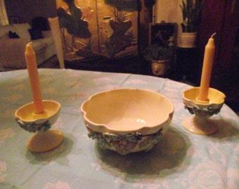 Italian 3pc Pottery