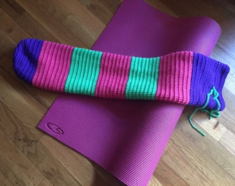 Yoga Mat Tote Bag - Customizable - Design Your Own - Crochet