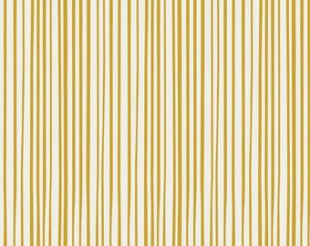 SALE!! 1 Yard Essentials ll by Art Gallery Fabrics- 352 Streakly Buisness Gold