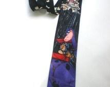 55% OFF Feb 12 - 14 90s Flintstones Tie, Hanna Barbera Tie, Graphic Print, Fred Flintstone Tie, Mens Necktie, Funny Tie, Dinosaur Tie, Carto