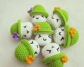 Mushrooms crochet : crochet,handmade,diy,mushroom,keychain,doll,idea,design,yarn,cotton,pattern,wedding,gift